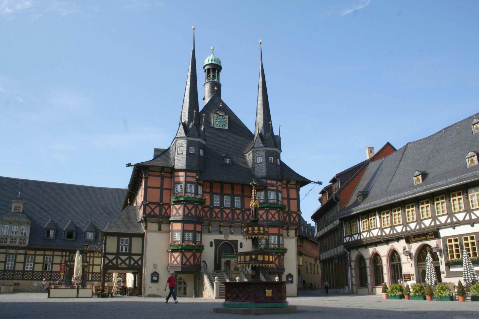 Wernigerode – die bunte Stadt am Harz