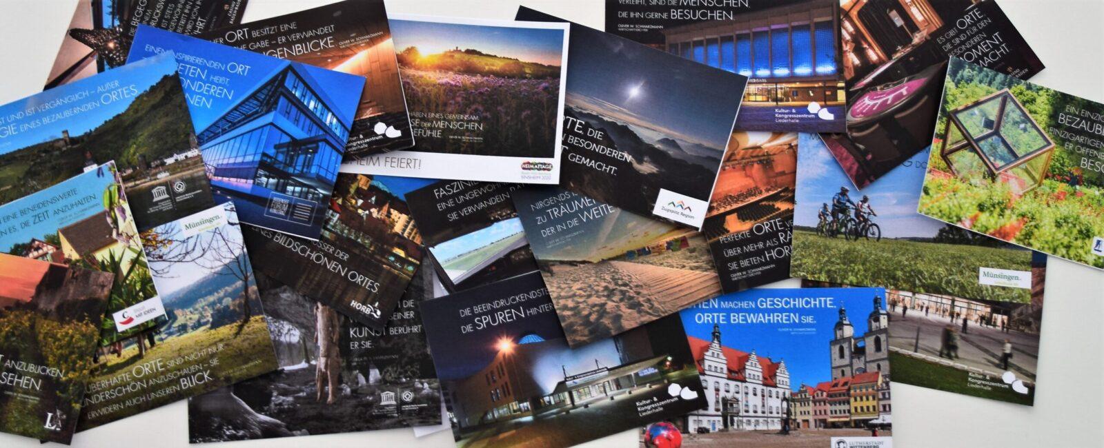 10 Gründe, warum die Dichter-Postkarte so extrem beliebt ist